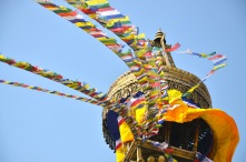 Boudhanath, Kathmandu - one of the worlds largest Stupa's