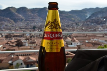 Cusquena - think I may have had too many of these