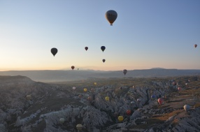 More hot air ballooning in Capadoccia