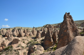 More fairy chimney's in Cappadocia