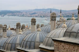 View of the Bosphorus from the Süleymaniye Mosque, Istanbul