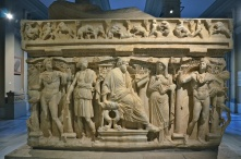 Roman sarcophagus in the Istanbul Archaeology Museum - a great place to spend an afternoon