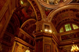 Inside Saint Isaac's Cathedral