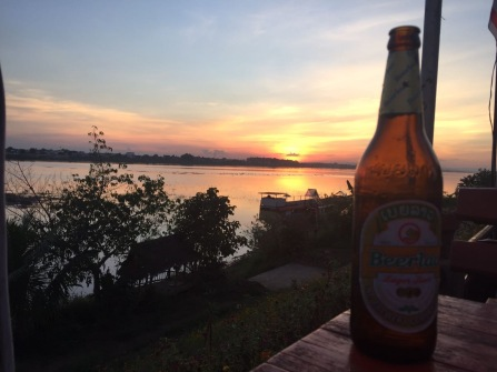 Sundowners in Vientiane